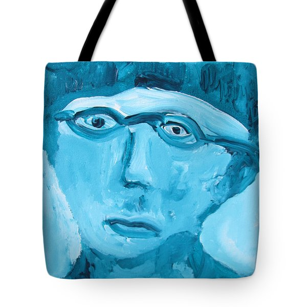 Face One Tote Bag by Shea Holliman