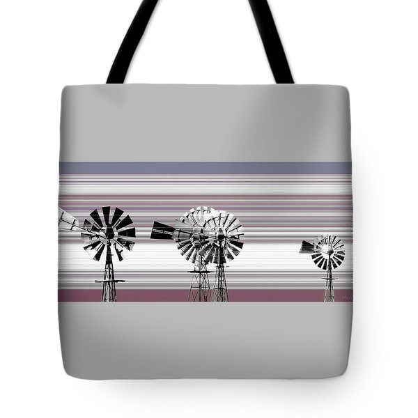 Face To The Wind Tote Bag by Holly Kempe