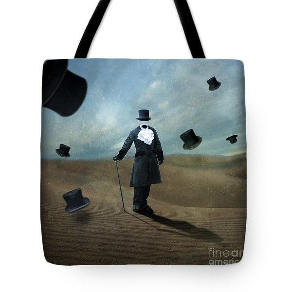 Faceless Tote Bag by Juli Scalzi