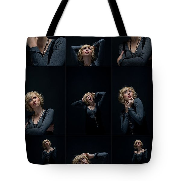 Facial Expression Tote Bag by Ralf Kaiser