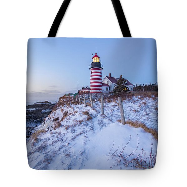 Facing East  Tote Bag by Evelina Kremsdorf