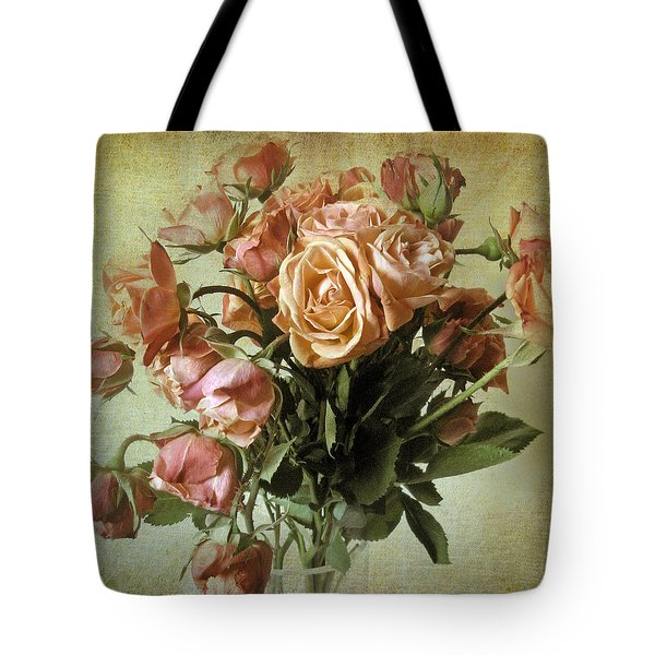 Fade Away Tote Bag by Jessica Jenney