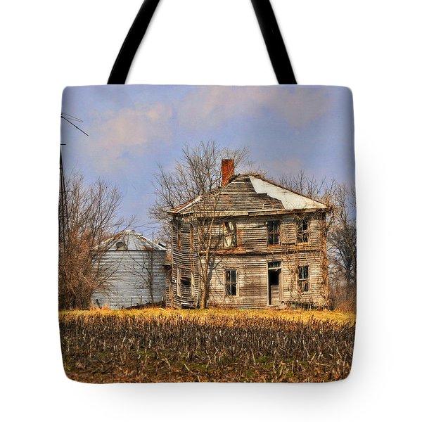 Fading Farm Tote Bag by Marty Koch