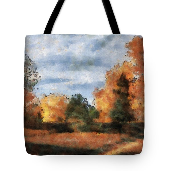 Fading Out Tote Bag by Ayse Deniz