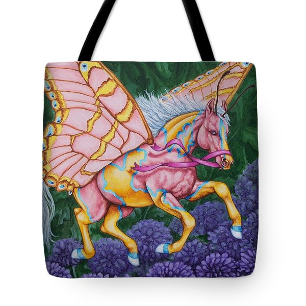 Faery Horse Hope Tote Bag by Beth Clark-McDonal