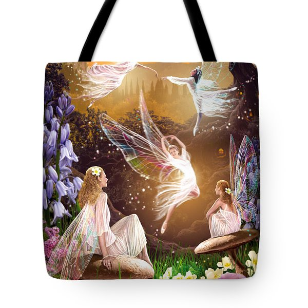 Fairy Ballet Tote Bag by Garry Walton