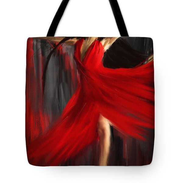 Fairy On Earth Tote Bag by Lourry Legarde