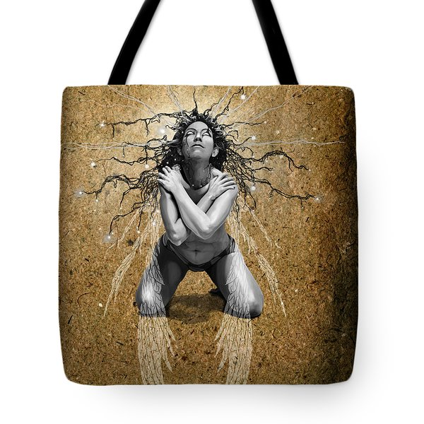 Foolish Fairy Tote Bag by Kd Neeley