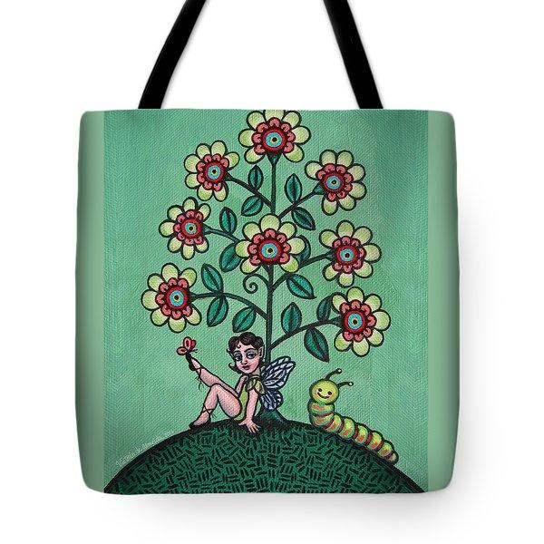 Fairy Series Katrina Tote Bag by Victoria De Almeida
