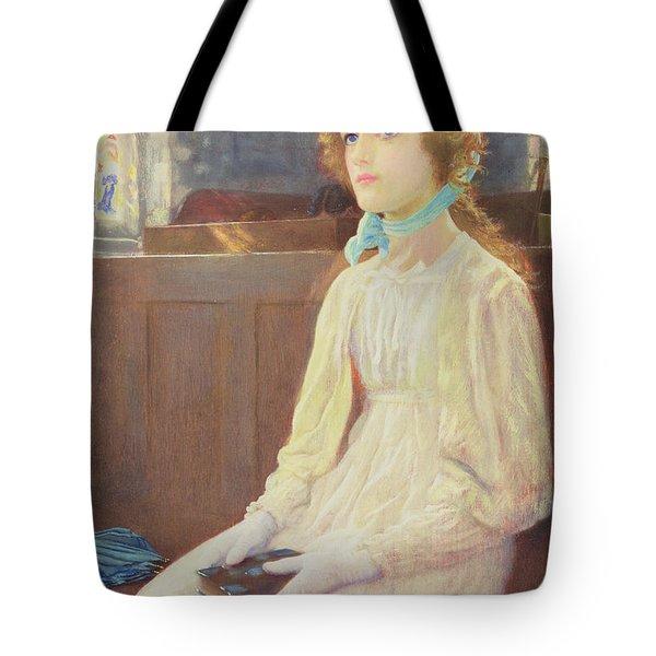 Faith Tote Bag by Arthur Hughes