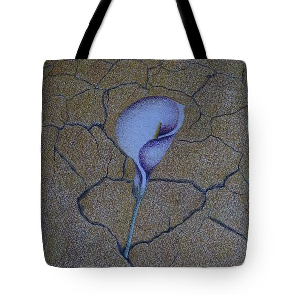 Faith Can Move Mountains Tote Bag by Carol De Bruyn