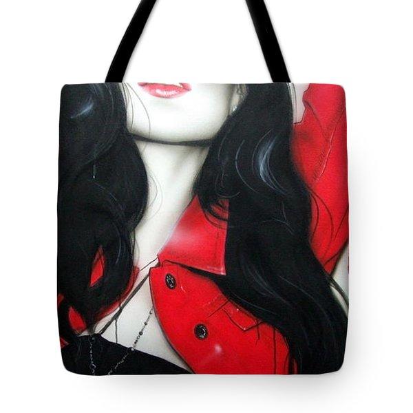 'faith' Tote Bag by Christian Chapman Art