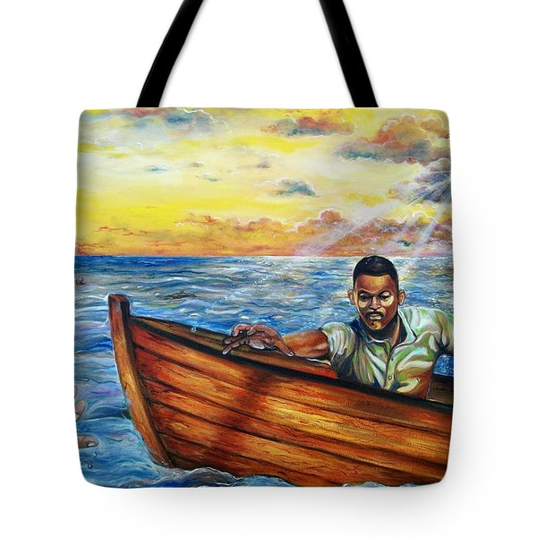 Faith Tote Bag by Emery Franklin