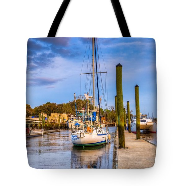 Faith Hope And Charity Tote Bag by Debra and Dave Vanderlaan