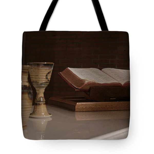 Faith Tote Bag by Shoal Hollingsworth