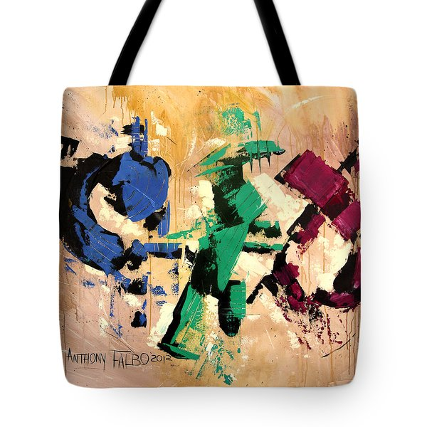 Faith That Is Not Seen Tote Bag by Anthony Falbo