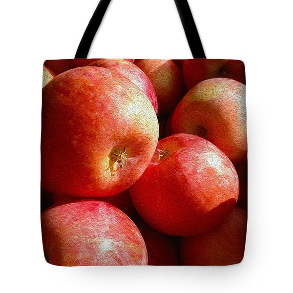 Fall Harvest Tote Bag by Cheryl Young