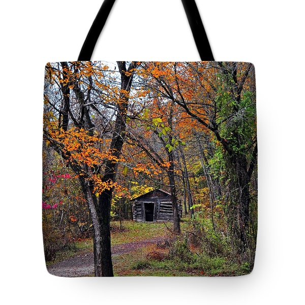 Fall Homestead Tote Bag by Marty Koch