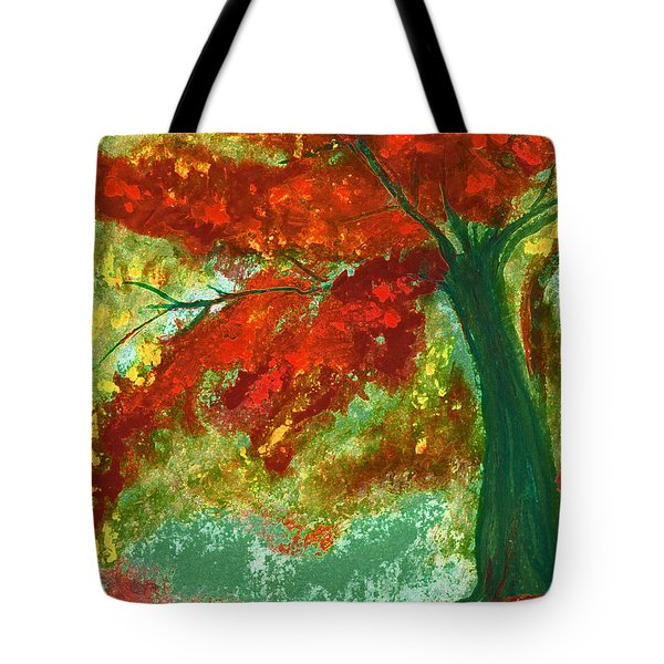 Fall Impression By Jrr Tote Bag by First Star Art