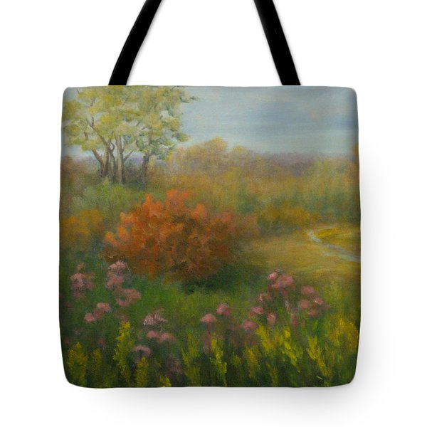 Fall In New England Tote Bag by Pamela Allegretto
