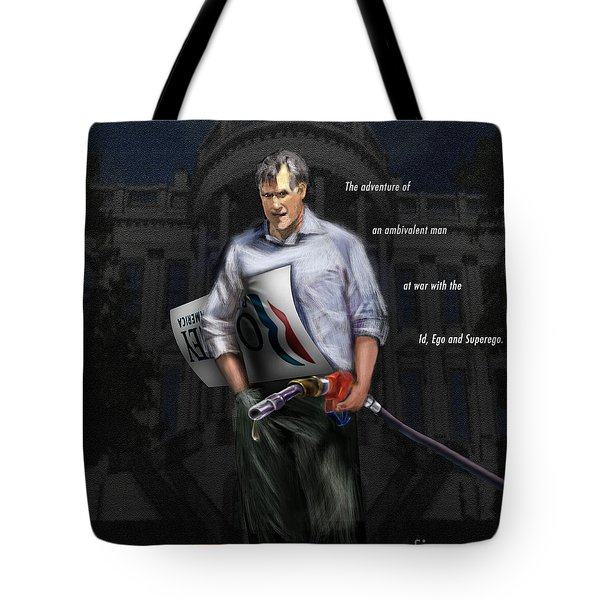 Falling Down Tote Bag by Reggie Duffie