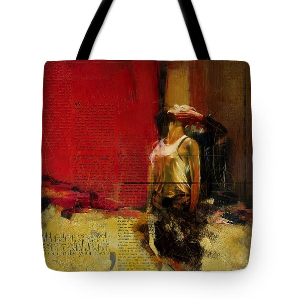 Falling In Love Tote Bag by Corporate Art Task Force