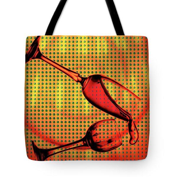 Falling Tote Bag by Mauro Celotti