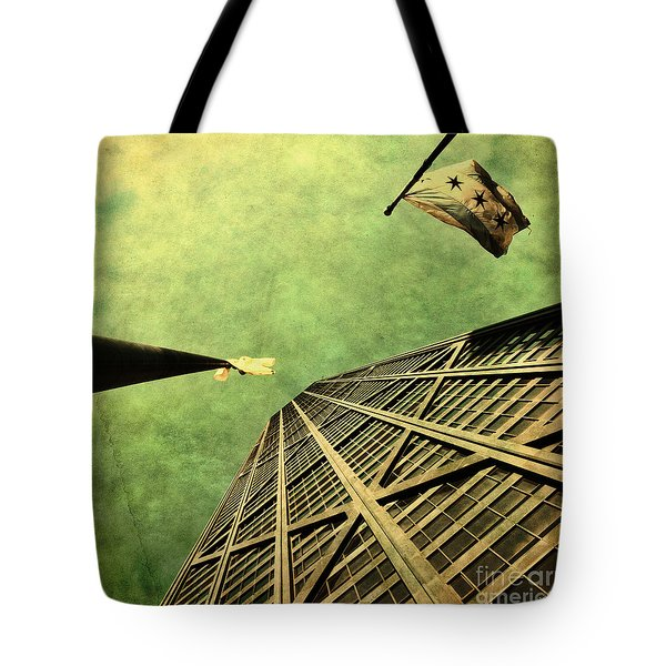 Falling Up Tote Bag by Andrew Paranavitana