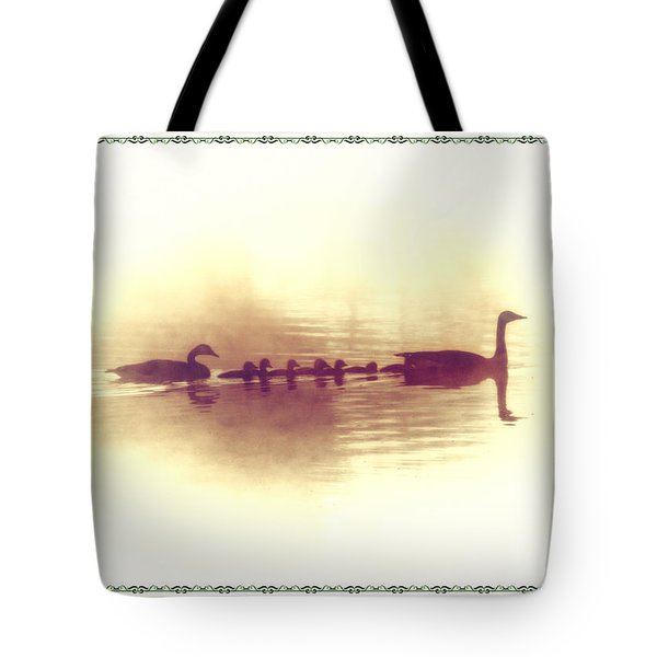 Family Outing Tote Bag by Bill Cannon