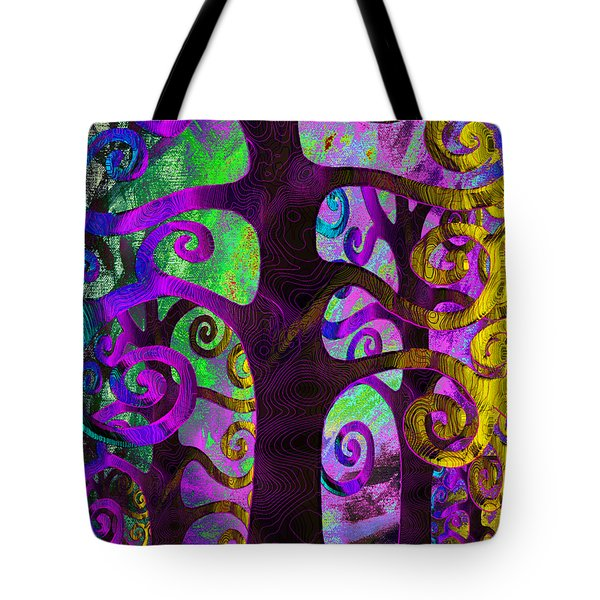 Family Struggle 2 Tote Bag by Angelina Vick