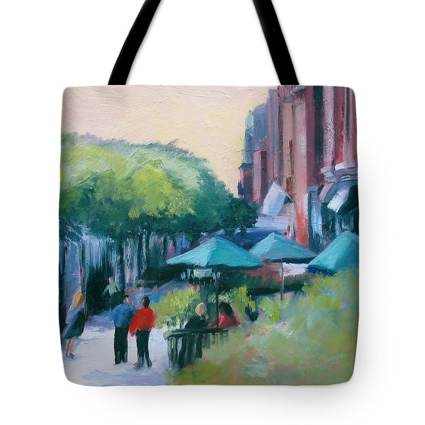 Fandango Tote Bag by Sheila Psaledas