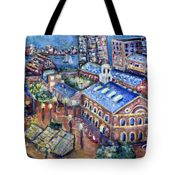 Faneuil Hall Tote Bag by Jason Gluskin