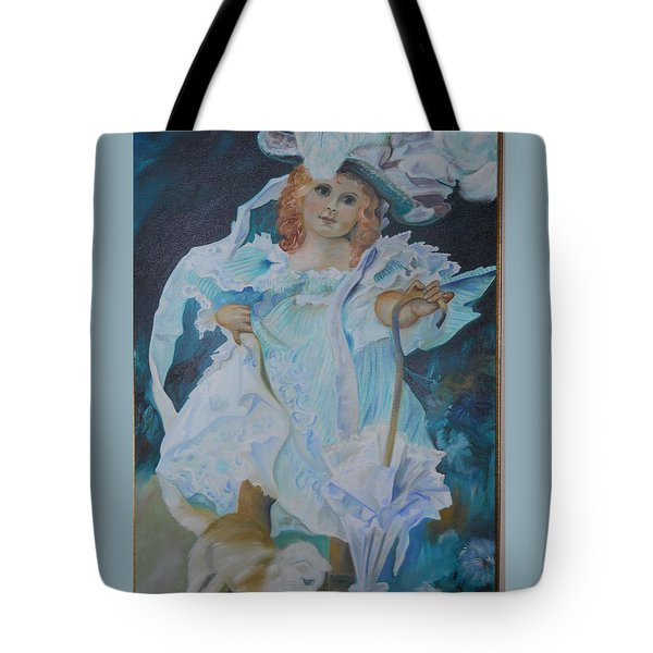 Fantasy Tote Bag by Joyce Reid