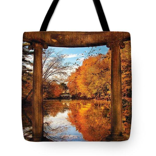Fantasy - Paradise waits Tote Bag by Mike Savad