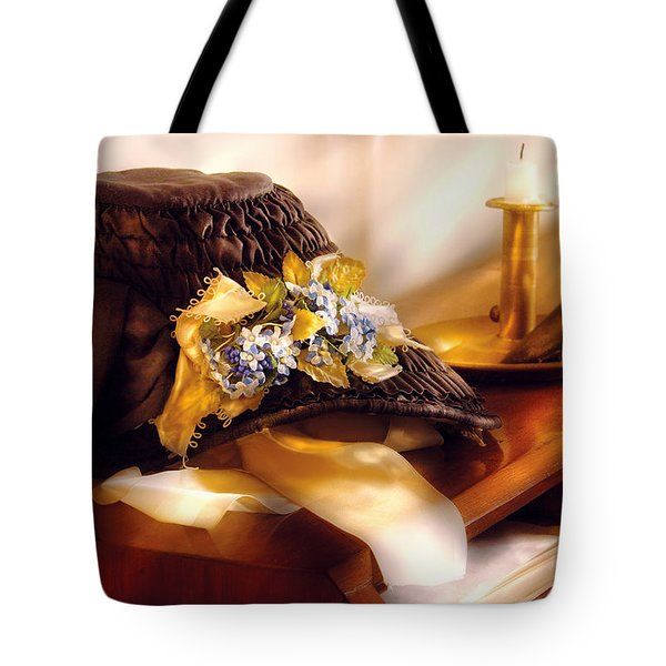 Fantasy - The Widows Bonnet  Tote Bag by Mike Savad
