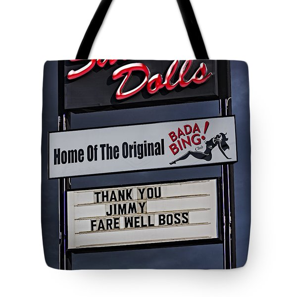 Farewell Boss Tote Bag by Susan Candelario