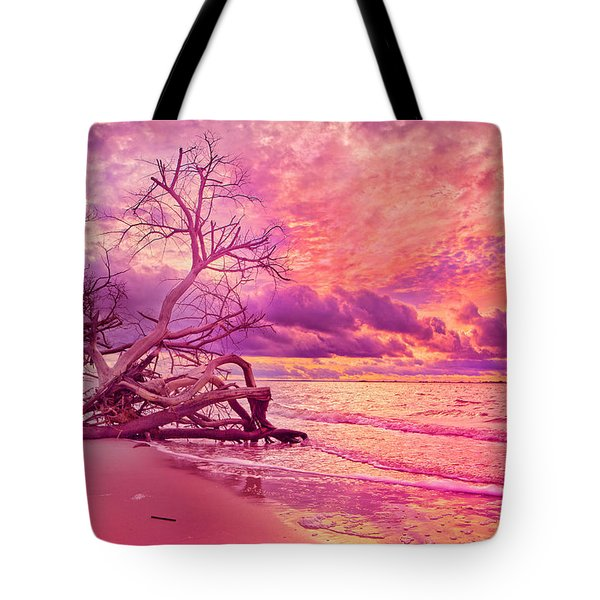Farewell To The Day Tote Bag by Betsy C  Knapp