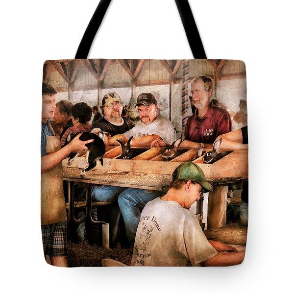 Farm - Farmer - By the pound Tote Bag by Mike Savad
