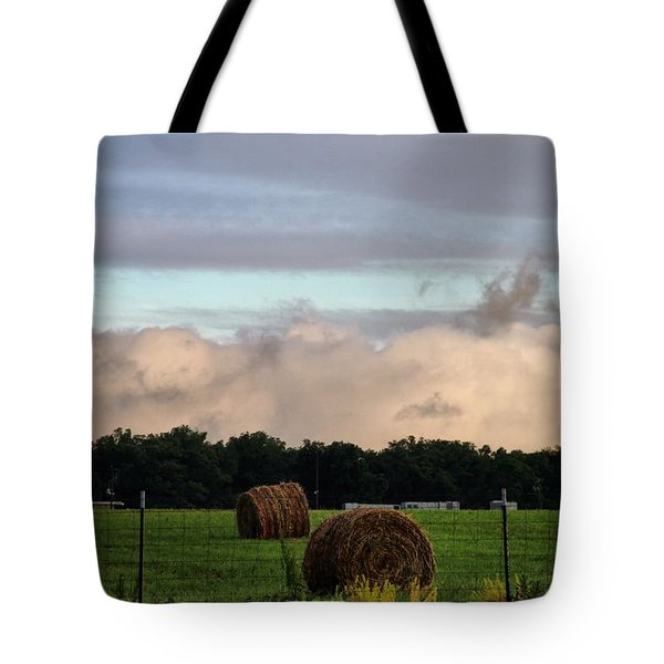 Farm Field Drama Tote Bag by Dan Sproul