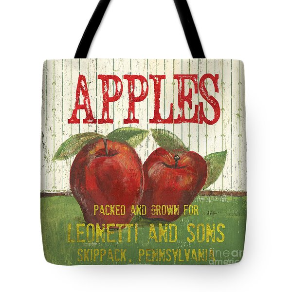 Farm Fresh Fruit 3 Tote Bag by Debbie DeWitt