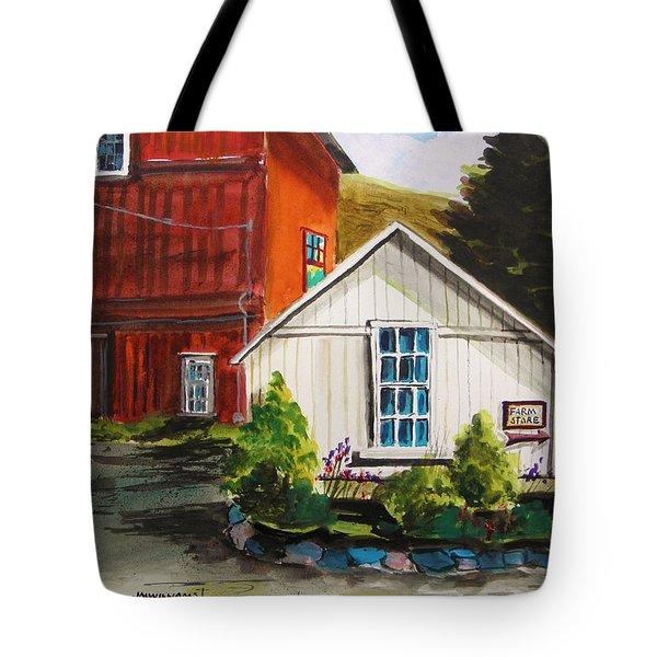 Farm Store Tote Bag by John Williams