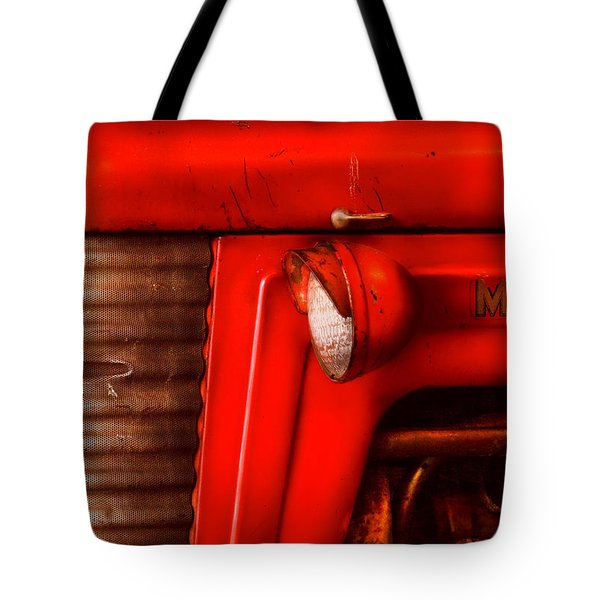 Farm - Tractor - The Tractor Tote Bag by Mike Savad
