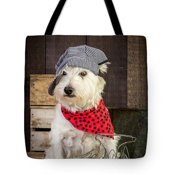 Farmer Dog Tote Bag by Edward Fielding