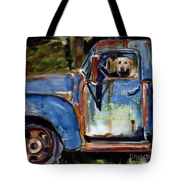 Farmhand Tote Bag by Molly Poole
