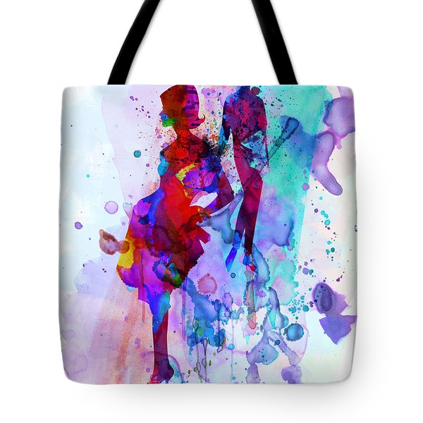 Fashion Models 5 Tote Bag by Naxart Studio