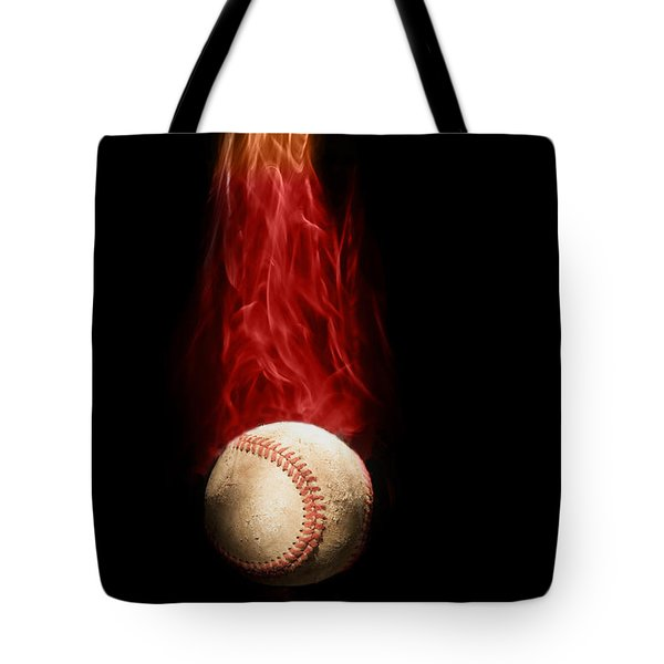 Fast Ball Tote Bag by Tom Mc Nemar
