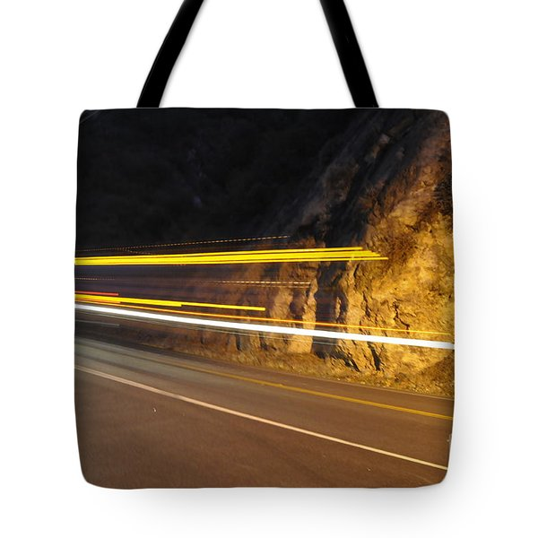 Fast Car Tote Bag by Gandz Photography