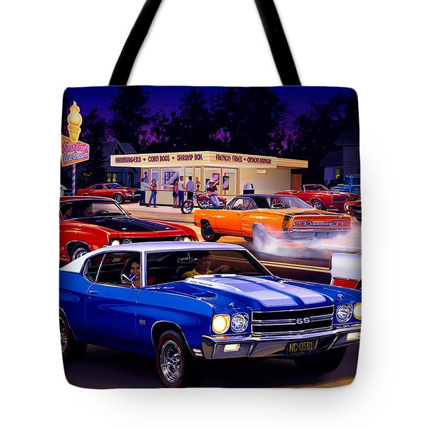 Fast Freds Tote Bag by Bruce Kaiser