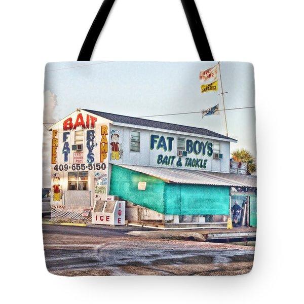 Fat Boys Tote Bag by Scott Pellegrin