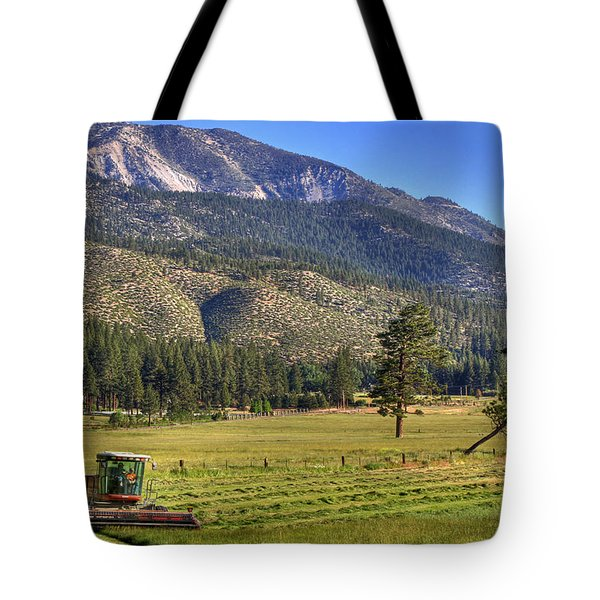 Father And Son Tote Bag by Donna Kennedy